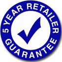 Five Year Retailer Guarantee FAQ