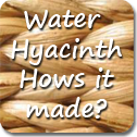 Water Hyacinth How It Made