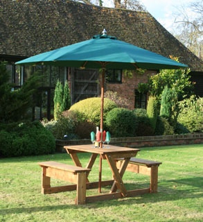 Product photograph showing Bourton 4 Picnic Table Fsc Certified