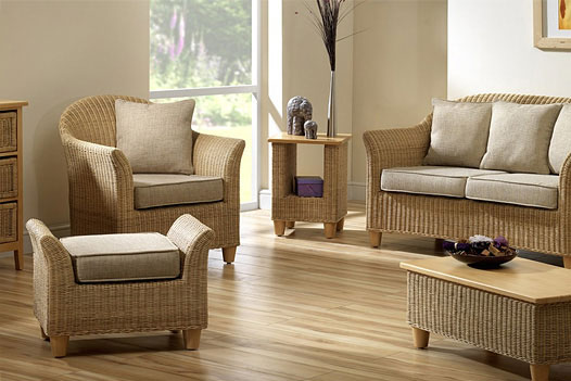 Product photograph showing Aintree Suite Sample Bundle Natural Weave