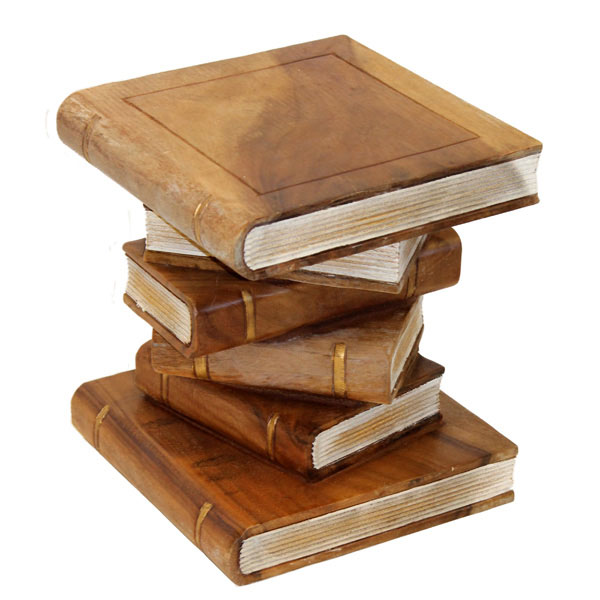 Buy Stacked Books Ornamental Table Medium Online