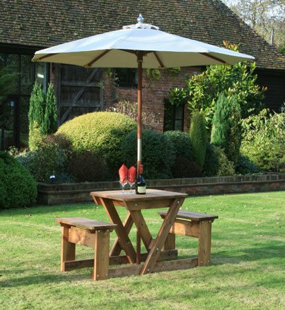 Click to view product details and reviews for Bourton 2 Picnic Table.