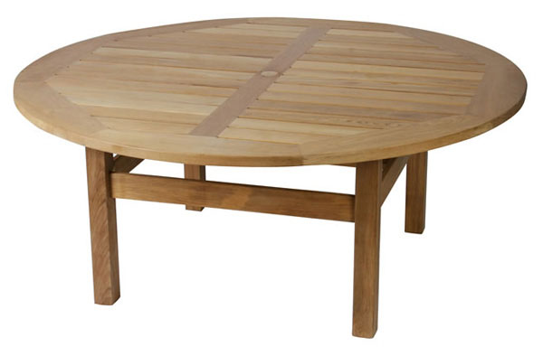 Click to view product details and reviews for Chunky Malvern Teak Dining Table 18m Diameter.