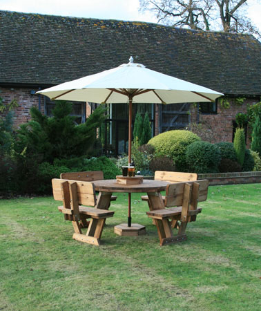 Click to view product details and reviews for Round Fsc Certified 8 Seater 4 Set Deal.