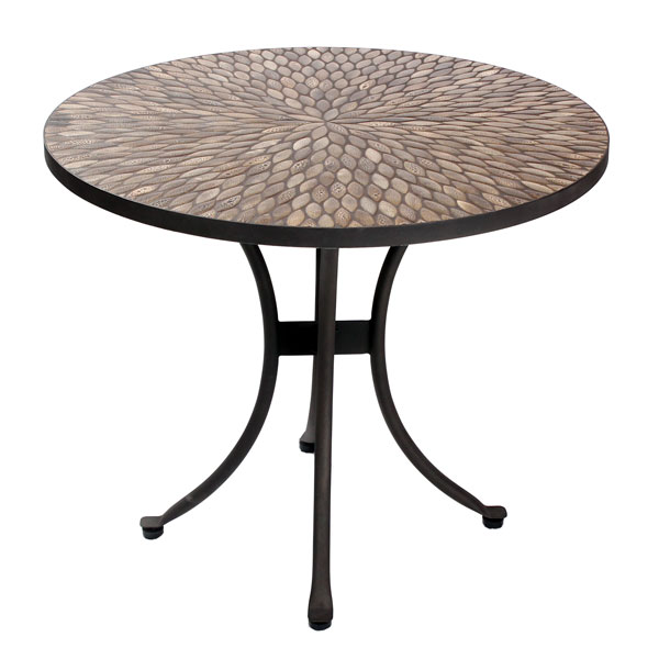 Click to view product details and reviews for Speckled Hen 70cm Table.