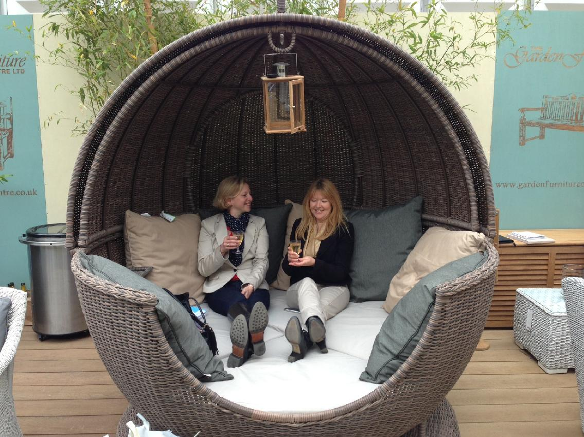 The Apple Day Bed at Chelsea Flower Show 2013
