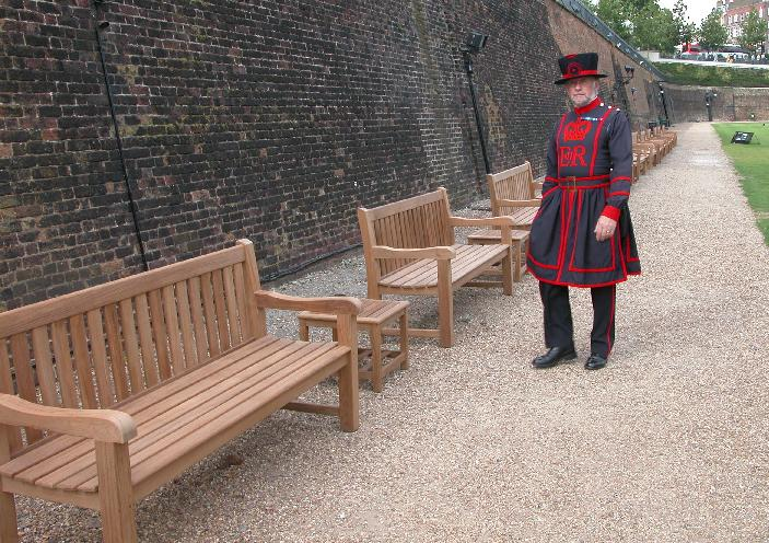 High Quality Furniture at The Tower of London