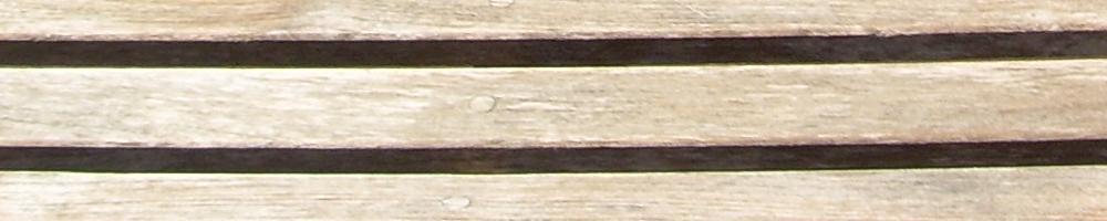 beautiful aged teak wood