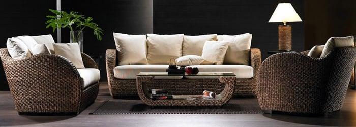 Monte Carlo Water Hyacinth Furniture