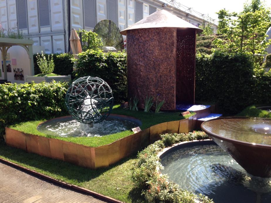 Water Themed garden