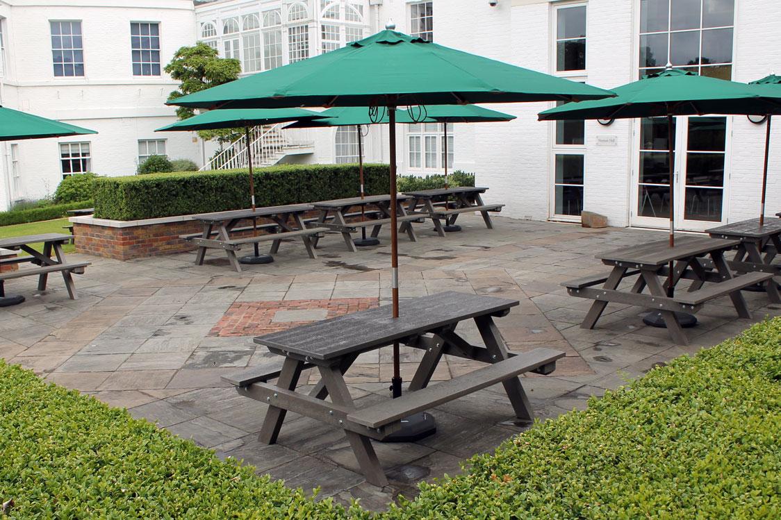 Plastic Picnic Tables - The Garden Furniture Centre