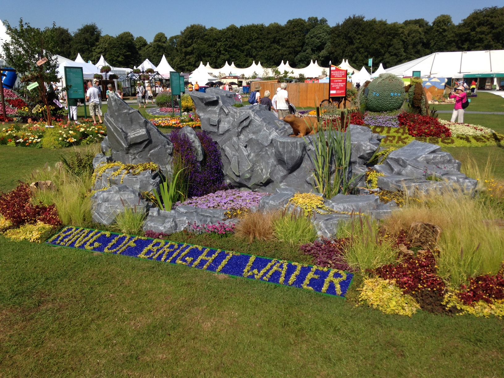 Ring of Bright Water- RHS Tatton Park