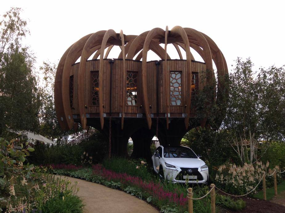 The Quiet Mark Treehouse, pioneered by and in partnership with John Lewis