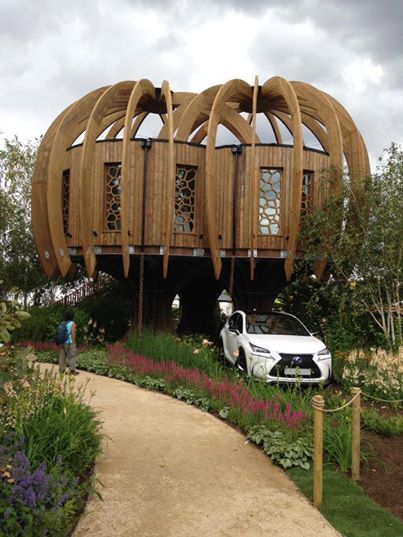The Quiet Mark Treehouse in partnership with Quietmark and John Lewis