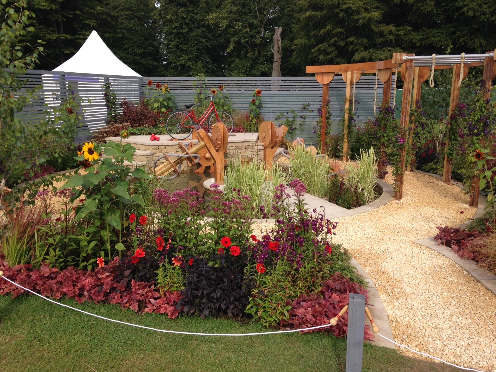 Workout garden-Rhs Tatton Park