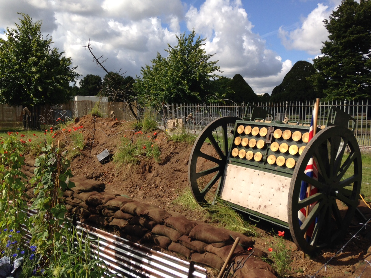 Remember those who lost their lives with this fantastic ww1 garden design