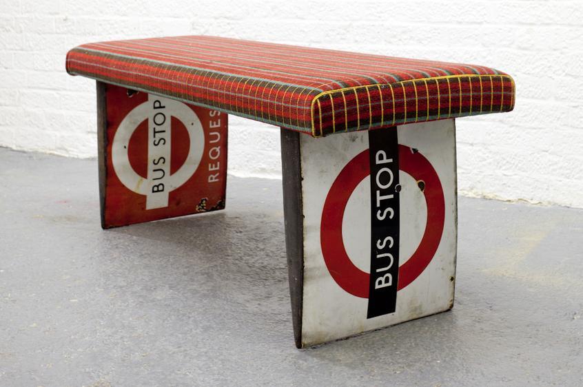 Rupert Blanchard's recycled retro designs
