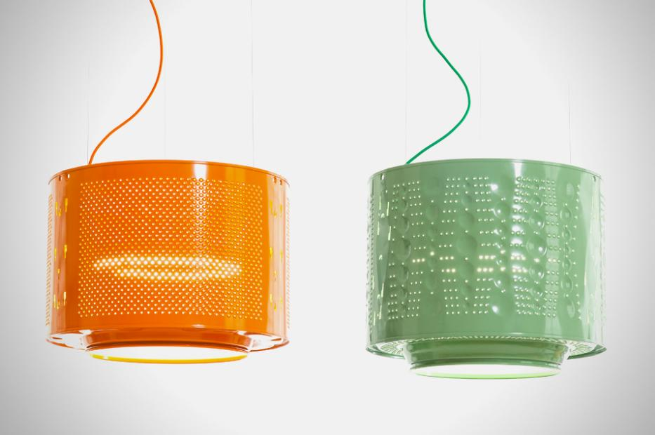 Drum Lamps are a spectacular recycled design
