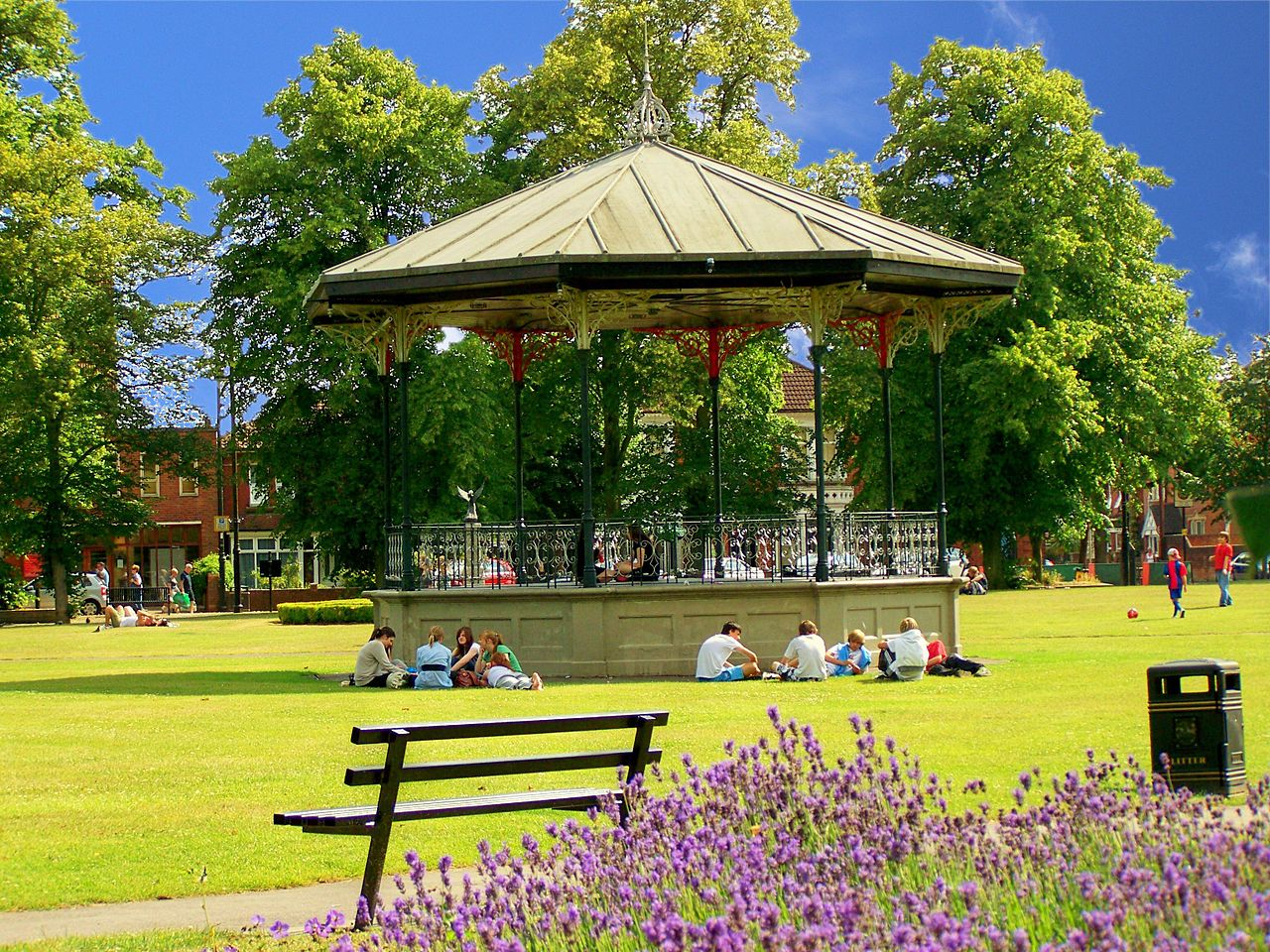 A Victorian bandstand In Eastleigh Hampshire, Copyright to Marek69