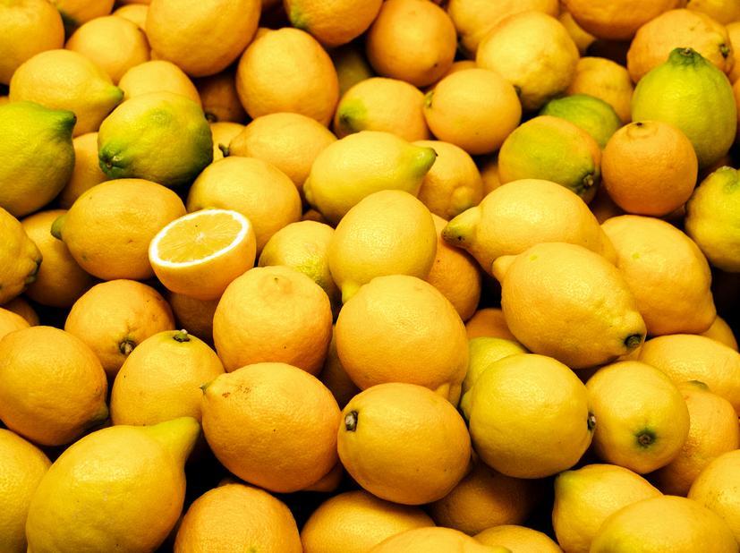 Lemons are full of vitamin c
