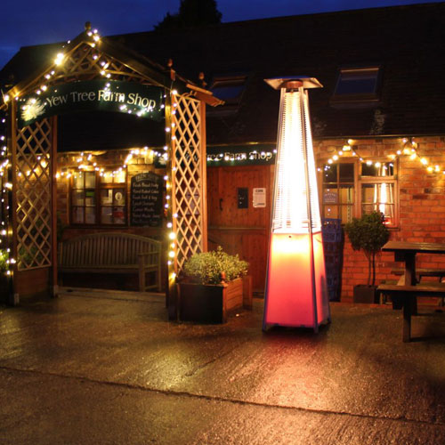 The Patio Heater That Helps You Party …