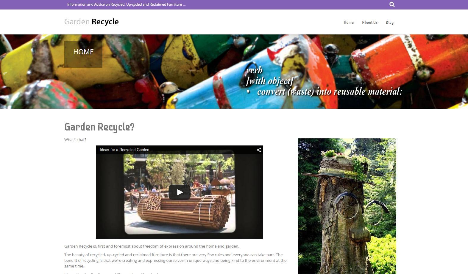 Garden Recycle Blog