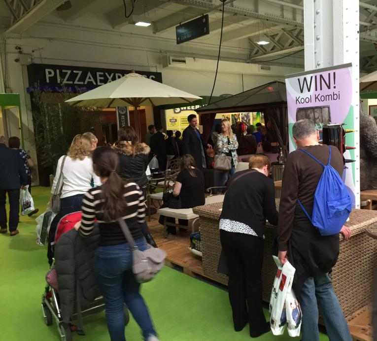 the ideal home show knock out deals and facebook compliments