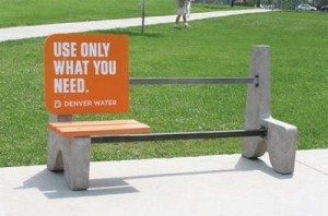 Use only what you need bench