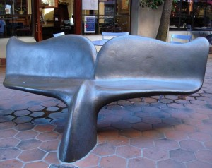 Whale Benches