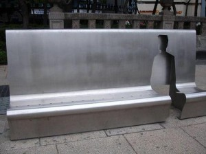 Silhouette bench