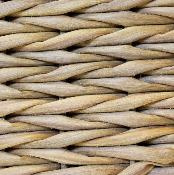 Tightly Hand Woven Water Hyacinth Weave