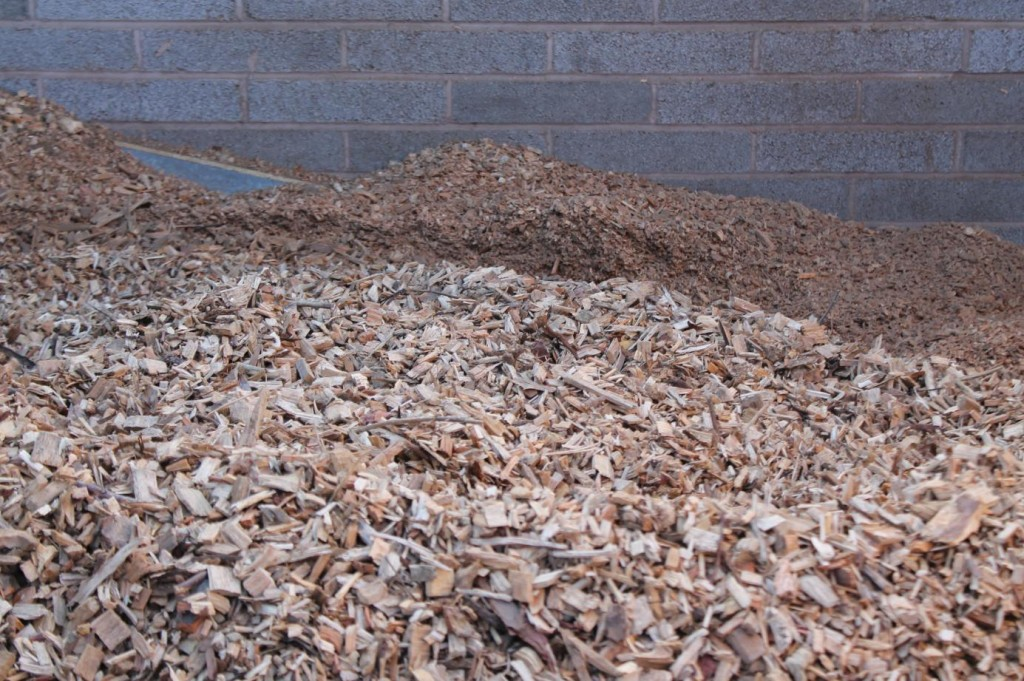 Woodchip provides the fuel