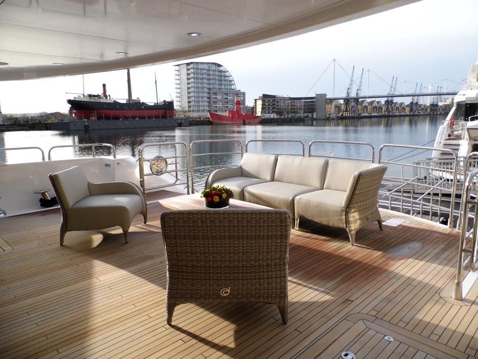 London Boat Show 2014 Luxor Range on the Sunseeker