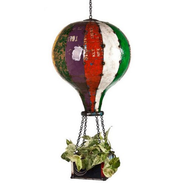 balloon flower planter