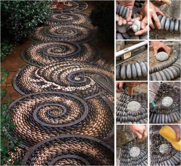 Unusual Garden Path Designs 01564 793652