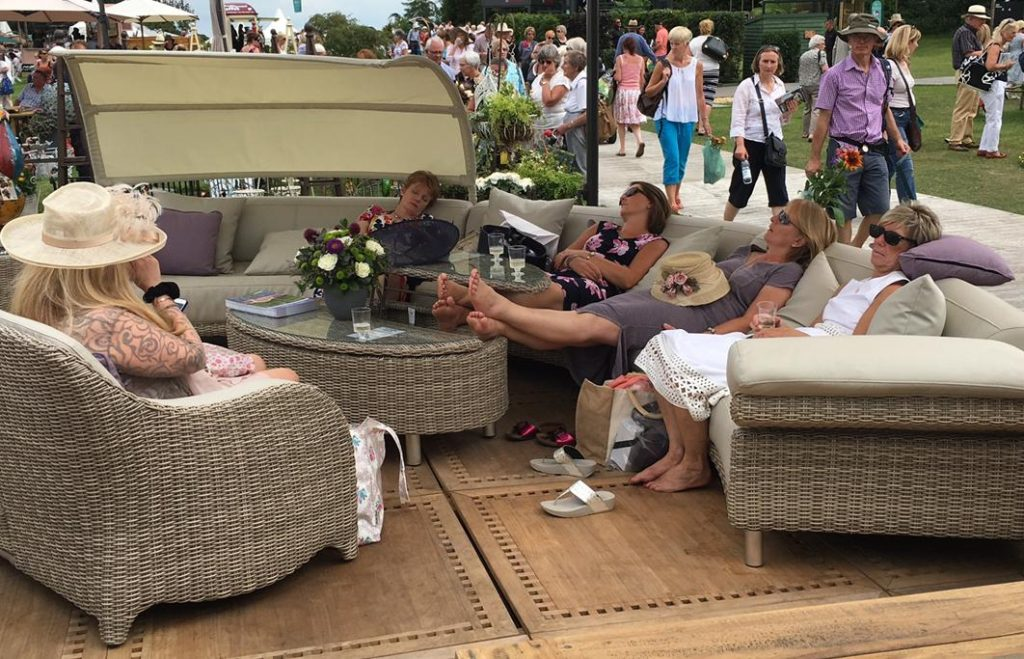 Too much bubbly at RHS Tatton Park Flower Show