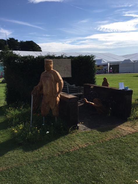 stunning sculptures at Tatton Park