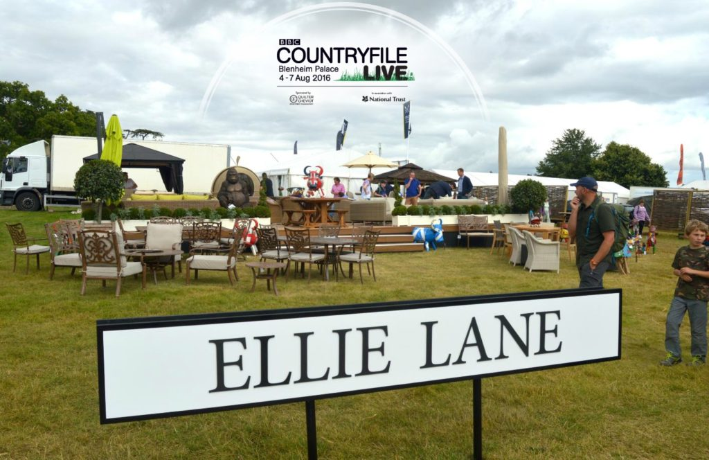 The Trade Stand on Ellie Lane at BBC Countryfile Live