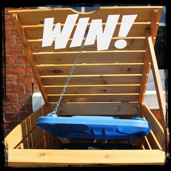 Win! Win! Win! A Wheelie Bin Cover Today