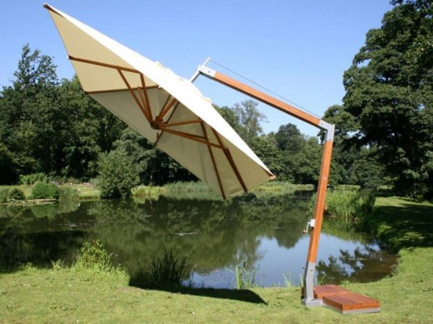 How to Clean a Cantilever Parasol