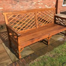 how to restore aged teak