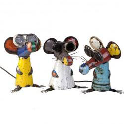 Three funky Blind Mice great indoors or out