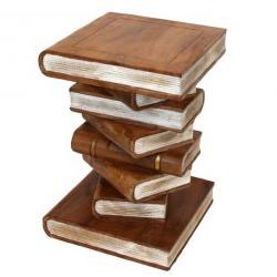Stacked Books Garden Ornament