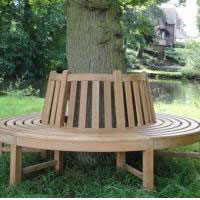 Teak Tree Bench from The Garden Furniture Centre