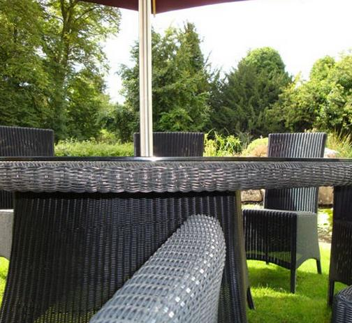 Beautiful Ecolene Synthetic Rattan looks like the real thing