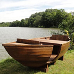 Genuine Reclaimed Indonesian Canoe