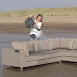 The water repellent properties of Textilene