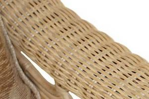 Lovely thick woven armrests