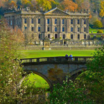 The famous Chatsworth House