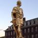 King Charles Statue outside the Chelsea Hospital